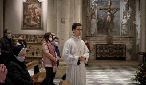 Sabato 3 luglio in Cattedrale l'ordinazione presbiterale di Davide Grossi